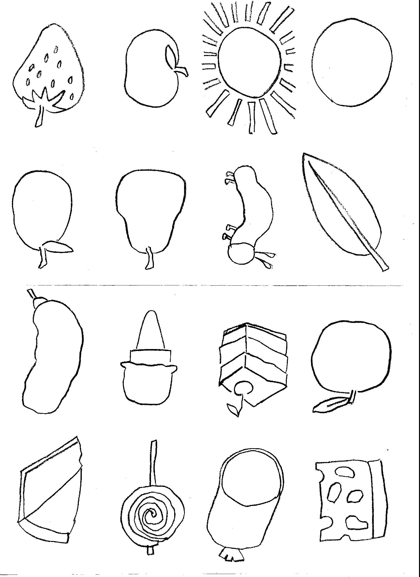 very hungry caterpillar colouring sheets the very hungry caterpillar colouring learningenglish esl hungry colouring very caterpillar sheets