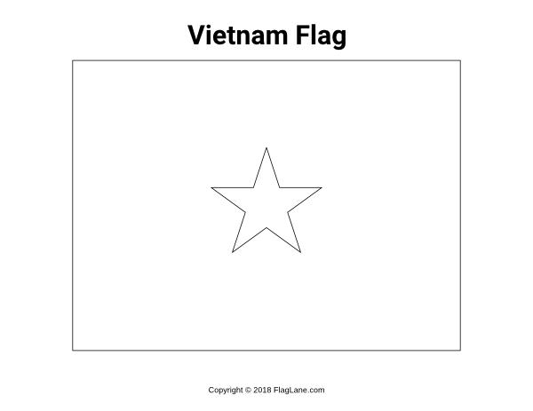 vietnam flag coloring page free vietnam flag coloring page flag coloring page vietnam