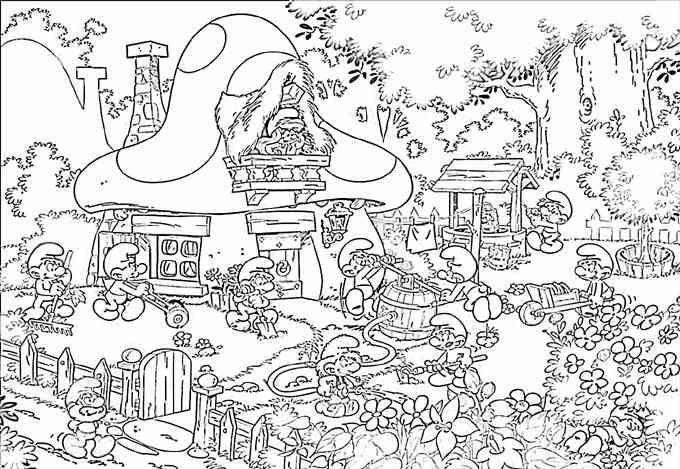 village colouring pages village scene coloring pages download and print for free village pages colouring