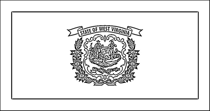 virginia flag coloring page free virginia flag coloring page page virginia flag coloring