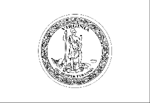 virginia flag coloring page virginia state flag virginia coloring page flag