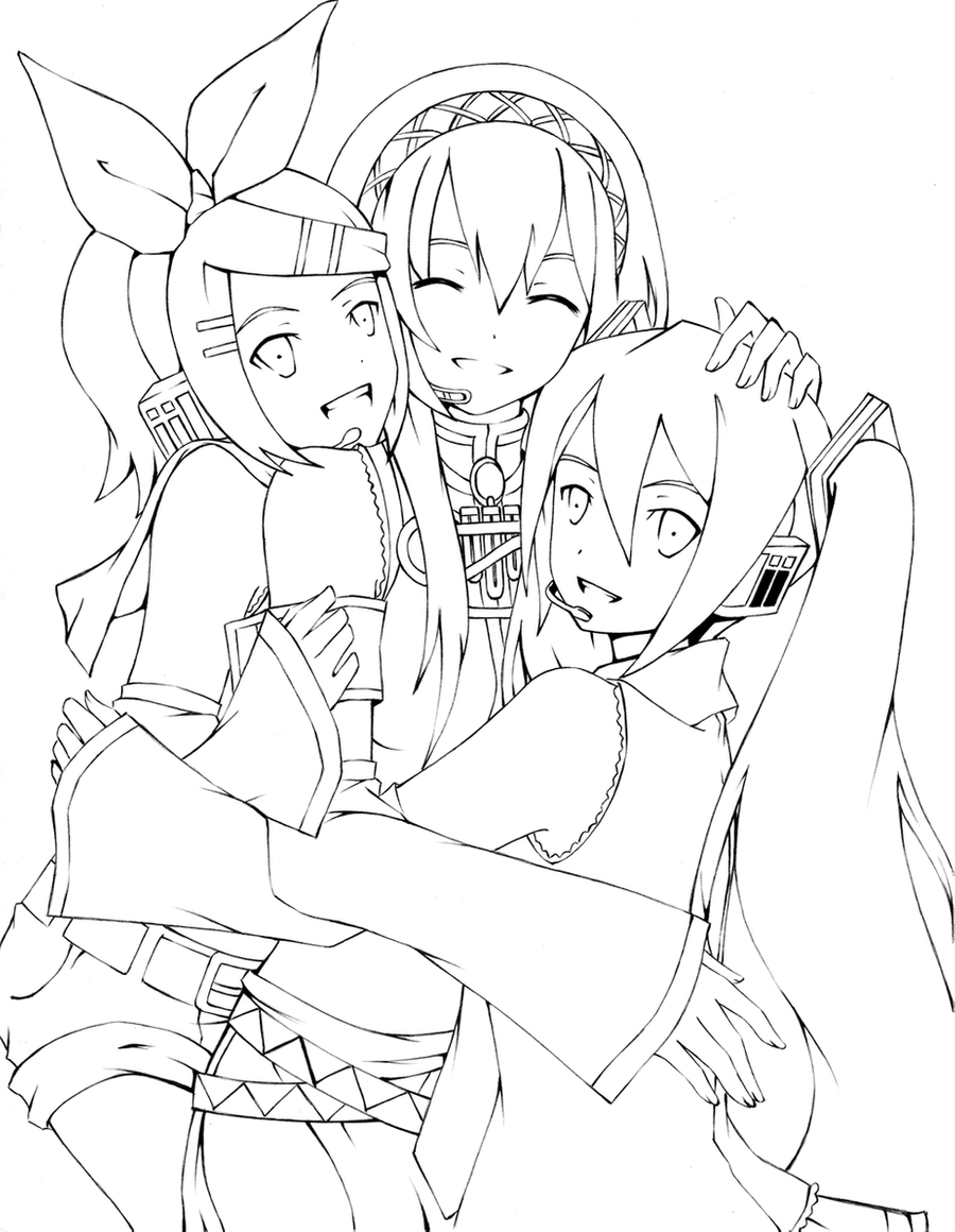 vocaloid coloring pages exit tunes presents gumity from megpoid vocaloid wiki coloring vocaloid pages