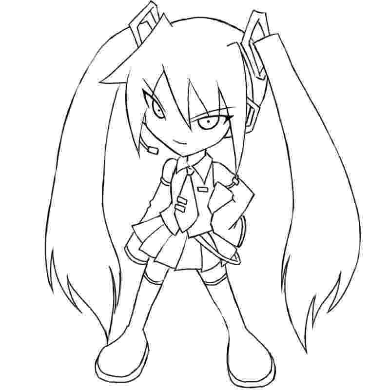 vocaloid coloring pages hatsune miku lineart by qrullgx13 on deviantart pages coloring vocaloid