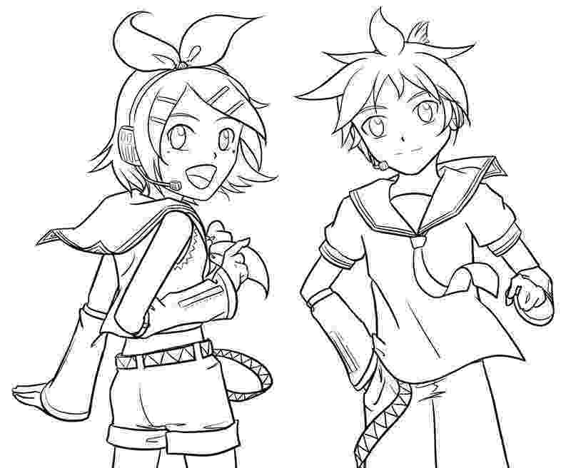 vocaloid coloring pages lineart vocaloid by shonen alice on deviantart pages vocaloid coloring
