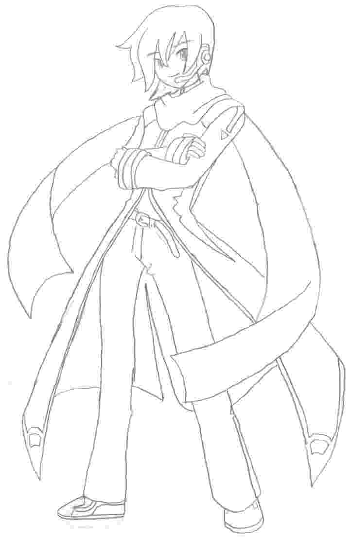 vocaloid coloring pages vocaloid kaito coloring page coloring pages coloring pages vocaloid