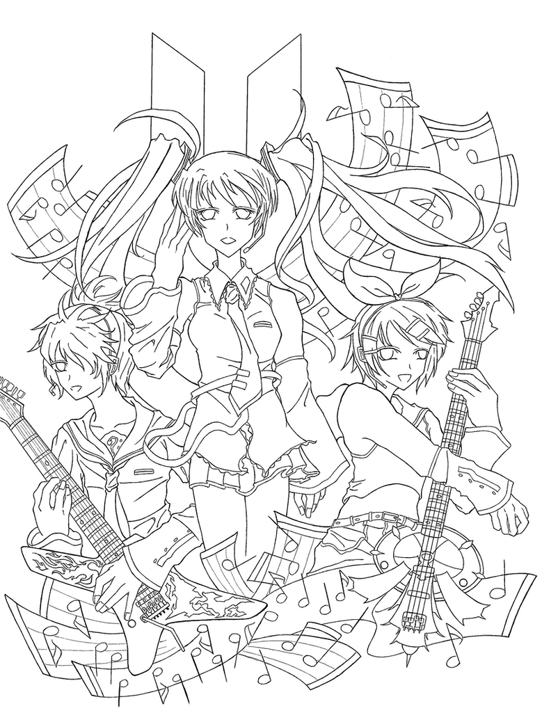 vocaloid coloring pages vocaloid seeu line artcoloring page by neosailorcrystal pages coloring vocaloid