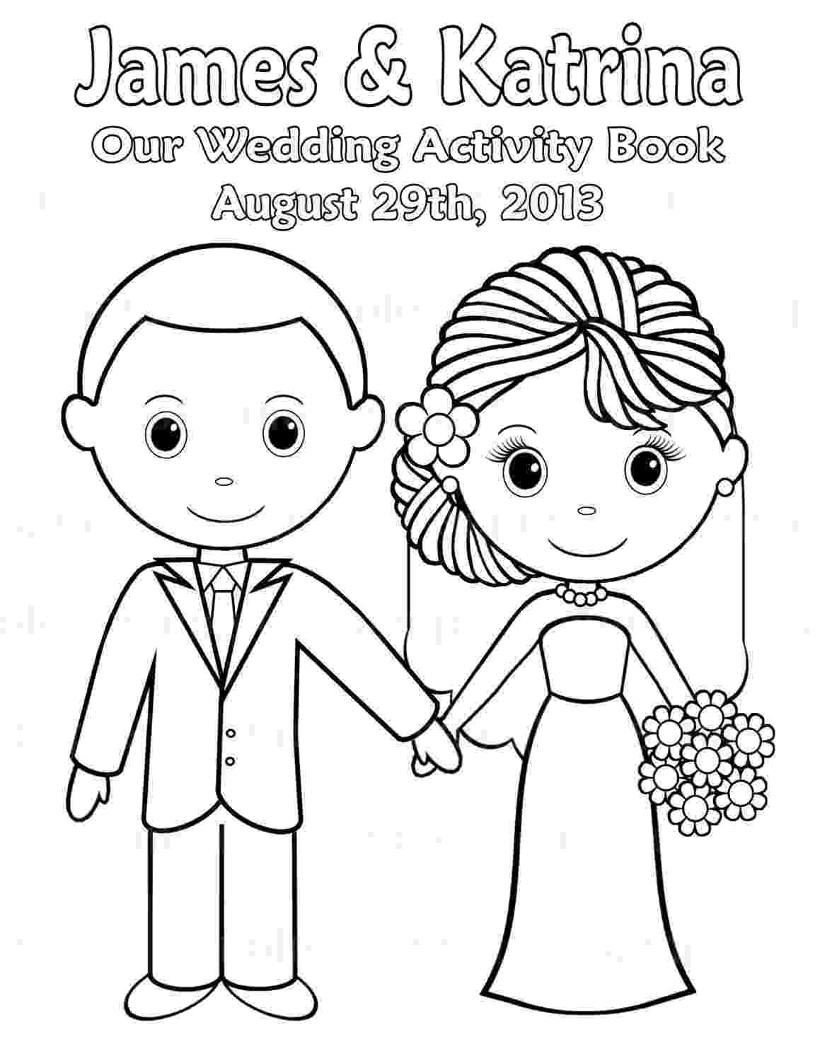 wedding coloring book printable personalized wedding coloring activity book favor wedding book coloring