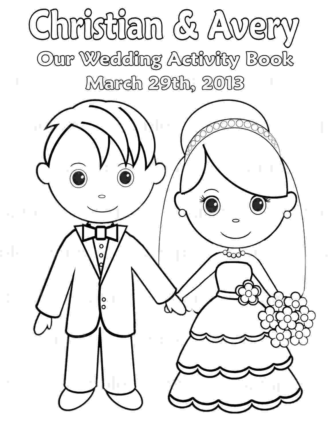 wedding coloring book printable personalized wedding coloring activity by wedding book coloring