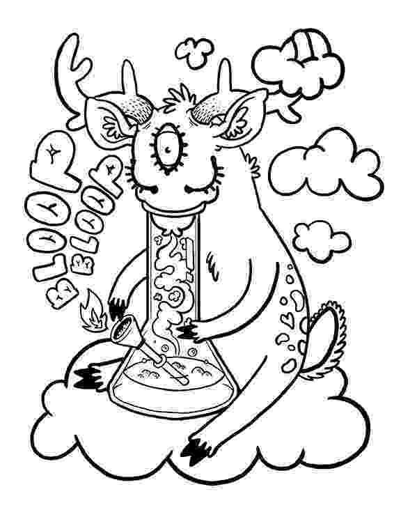 weed coloring sheets weed stoner drawings coloring pages coloring sheets weed