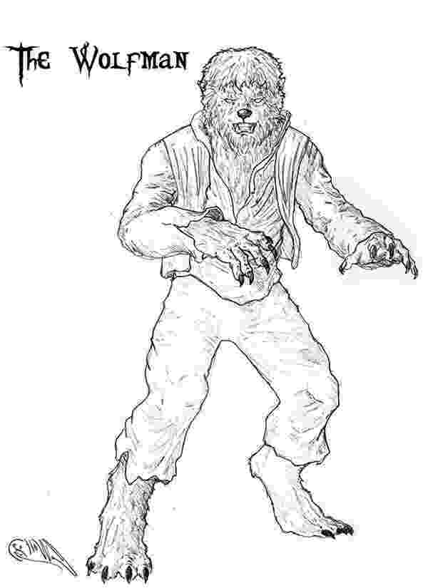 werewolf coloring pages coloring page werewolf coloring pages werewolf