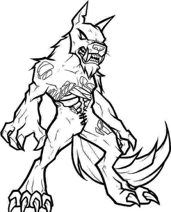 werewolf coloring pages halloween werewolf coloring page free printable coloring pages werewolf coloring