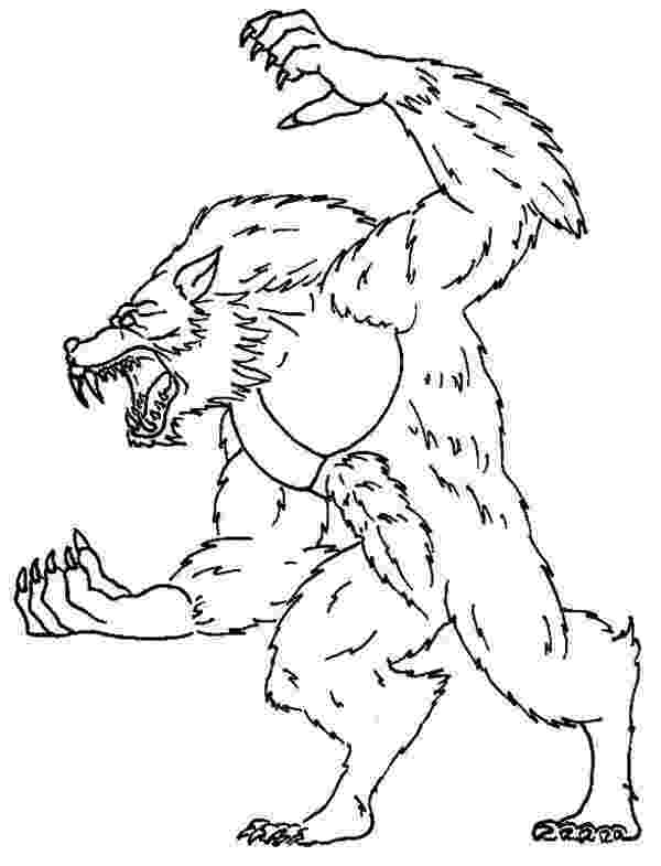 werewolf coloring pages werewolf pages coloring pages pages werewolf coloring