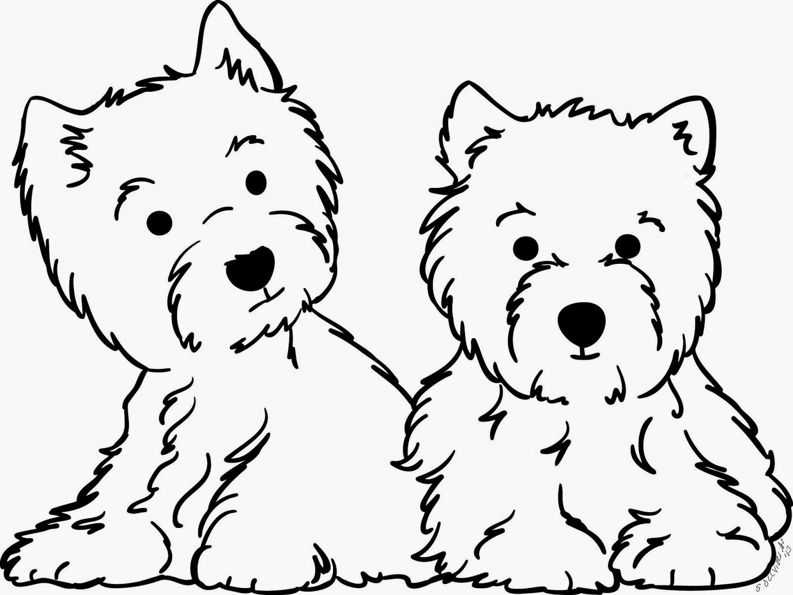 westie coloring pages casey print of pencil drawing westie 8x10 pages westie coloring
