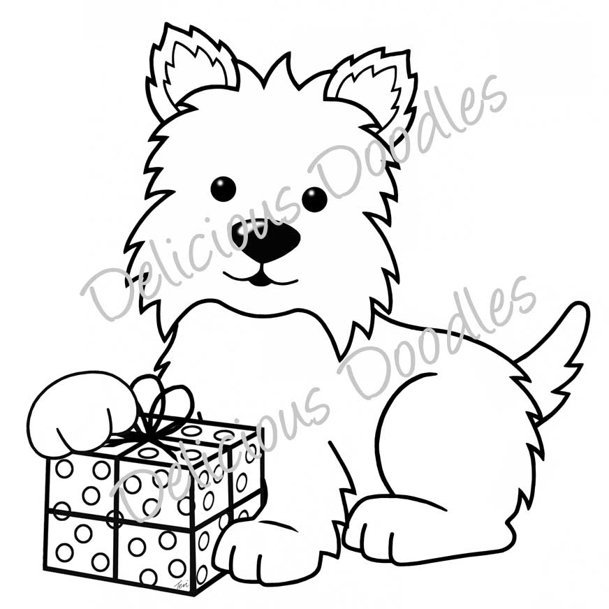 westie coloring pages fred she said designs the store winter westie pages coloring westie