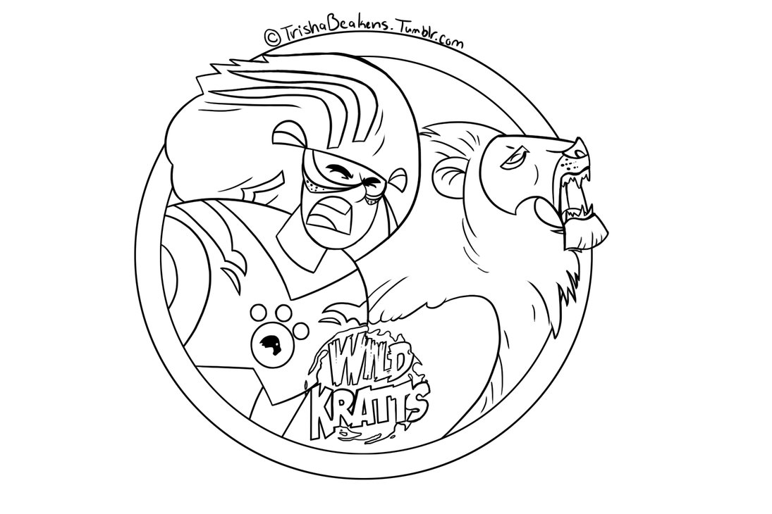 wild kratts coloring pages black and white 1000 images about kyle39s animal board on pinterest wild pages wild coloring and black kratts white