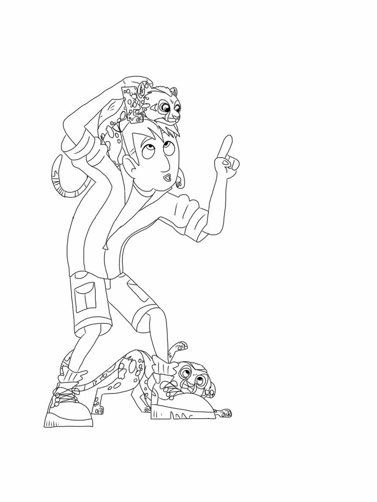 wild kratts coloring pages black and white kratt bros coloring page coloring pages for kids black wild kratts pages and coloring white