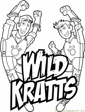 wild kratts coloring pages black and white wild kratts the martin coloring pages printable white pages black and wild coloring kratts