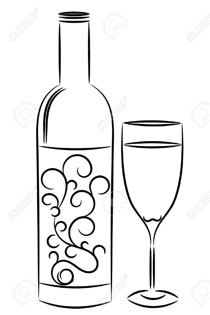 wine bottle coloring pages 9 best coloring pages images on pinterest coloring books pages coloring bottle wine