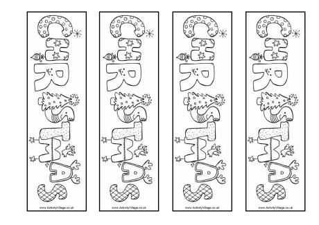 winter bookmarks coloring page free printable bookmark for kids color the winter season coloring page winter bookmarks