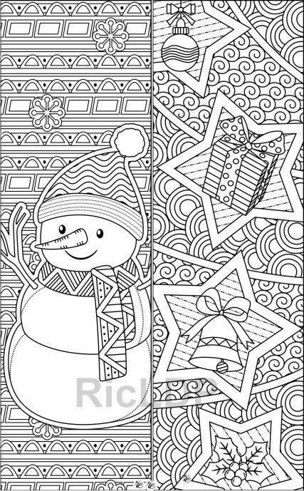 winter bookmarks coloring page stock up on color craze winter bookmarks as a fun and bookmarks coloring winter page