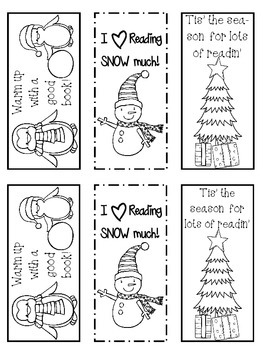 winter bookmarks coloring page winter bookmarks to color by rosie39s library teachers page winter coloring bookmarks