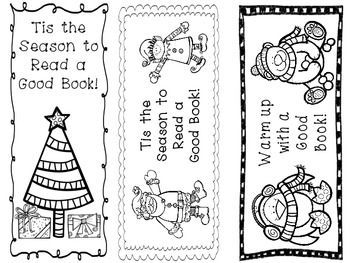 winter bookmarks coloring page winter colouring pages for kids bookmarks coloring winter page