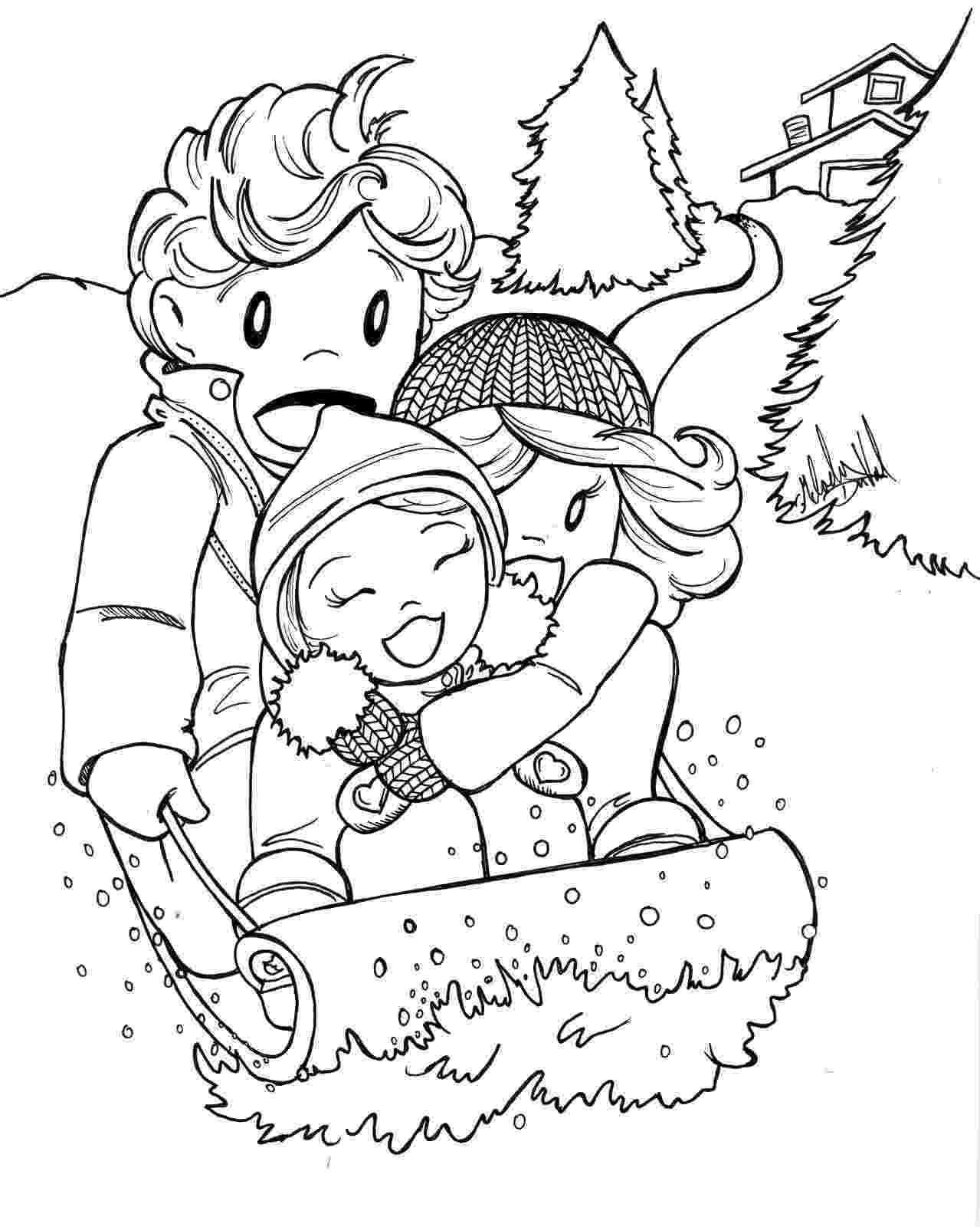 winter coloring pages free winter coloring page artzycreationscom coloring pages winter
