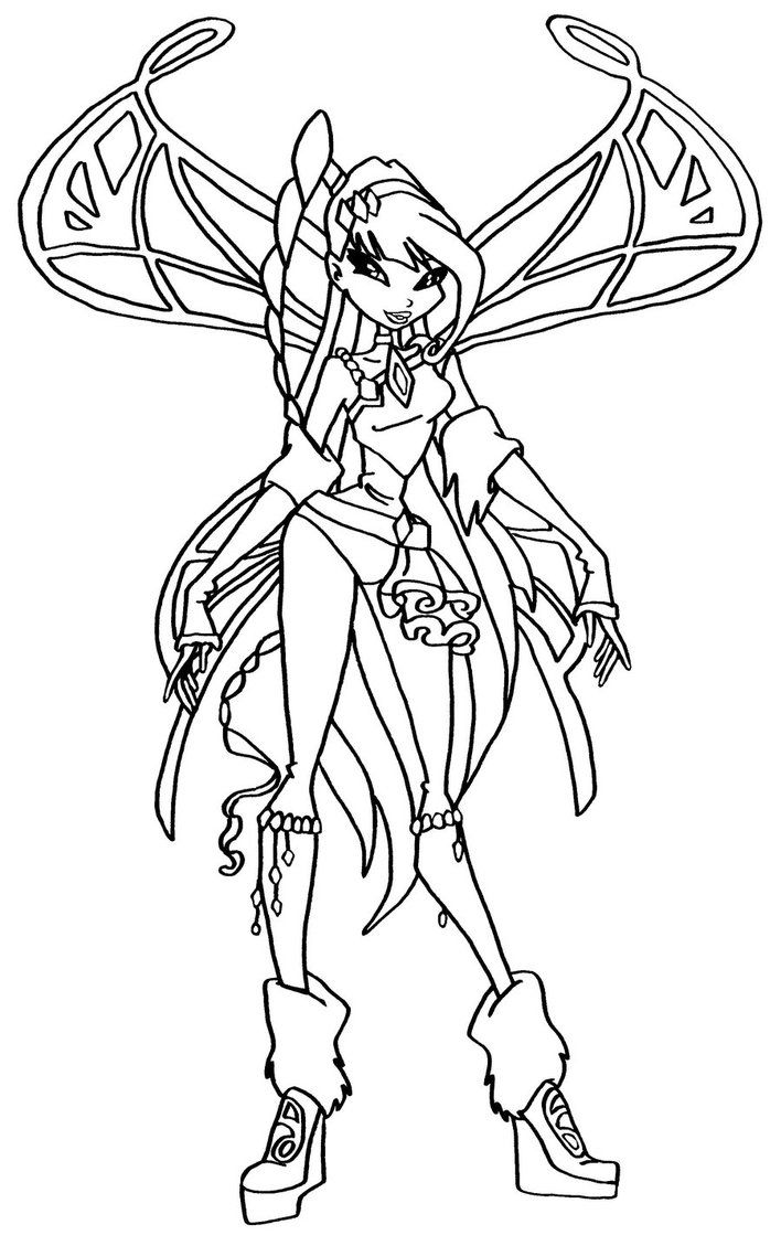 winx coloring page 17 best images about winx coloring pages on pinterest coloring winx page
