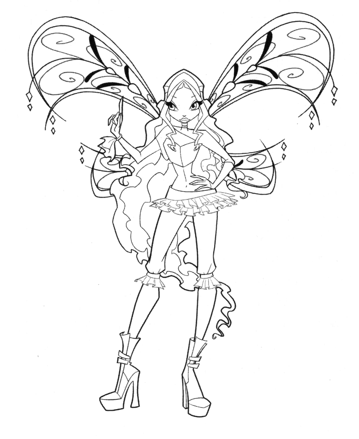 winx coloring page flora sophix coloring page by icantunloveyou on deviantart page winx coloring