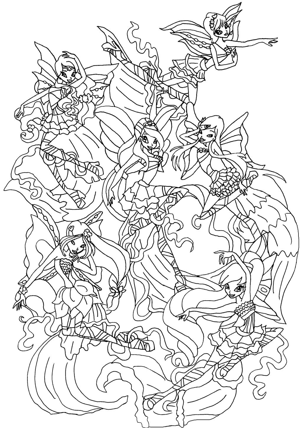 winx coloring page free printable winx club coloring pages for kids page winx coloring