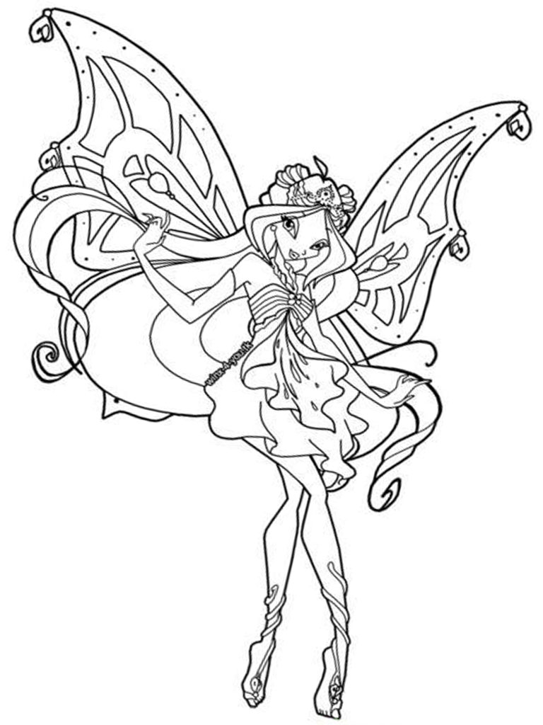 winx coloring page free printable winx club coloring pages for kids winx page coloring