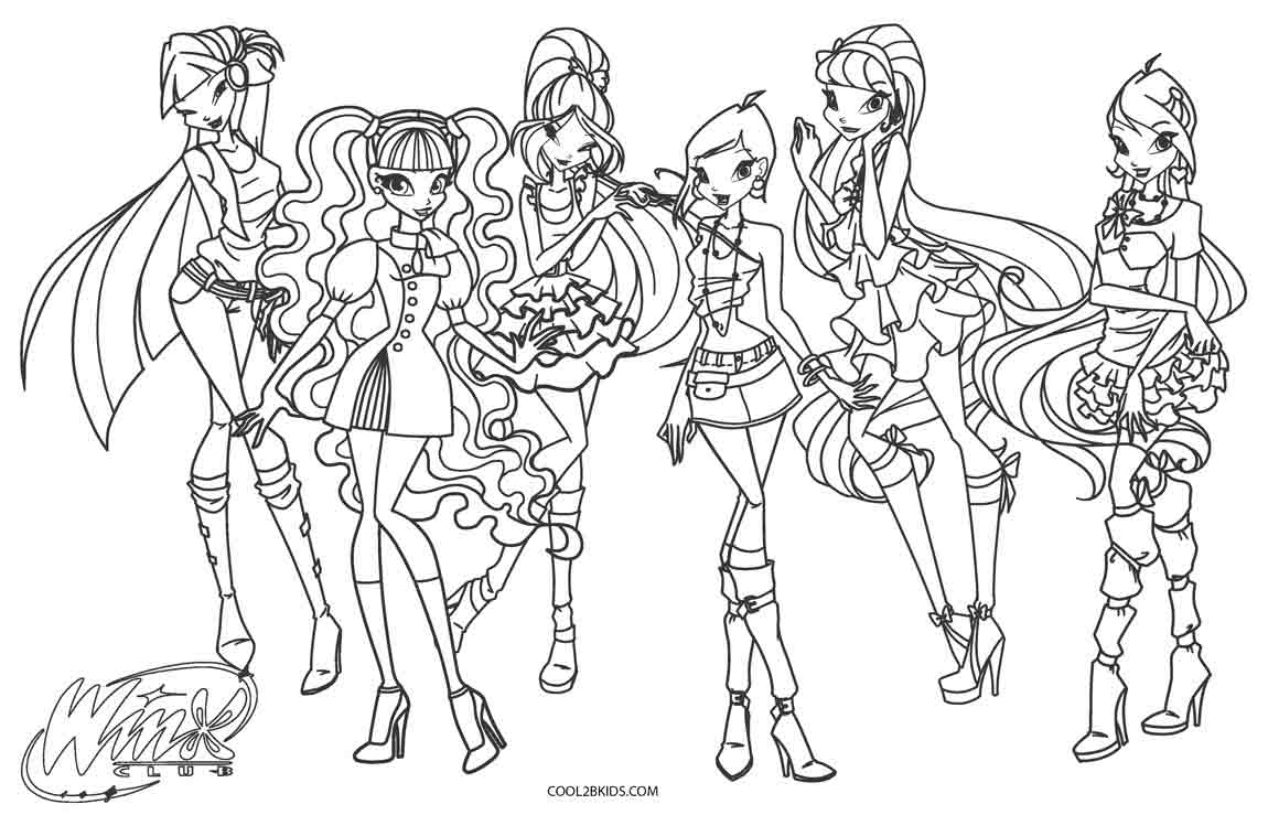 winx coloring page winx club coloring pages 360coloringpages coloring winx page