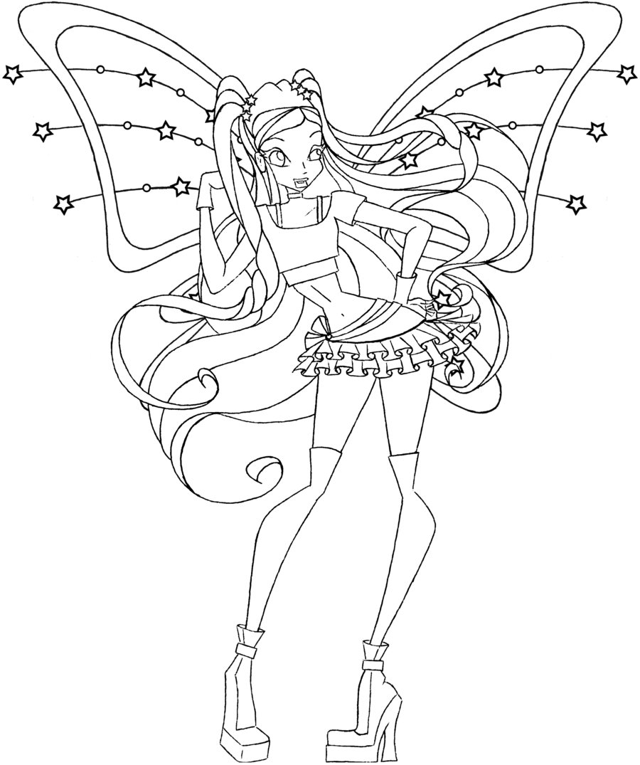 winx coloring page winx club drawings page winx coloring