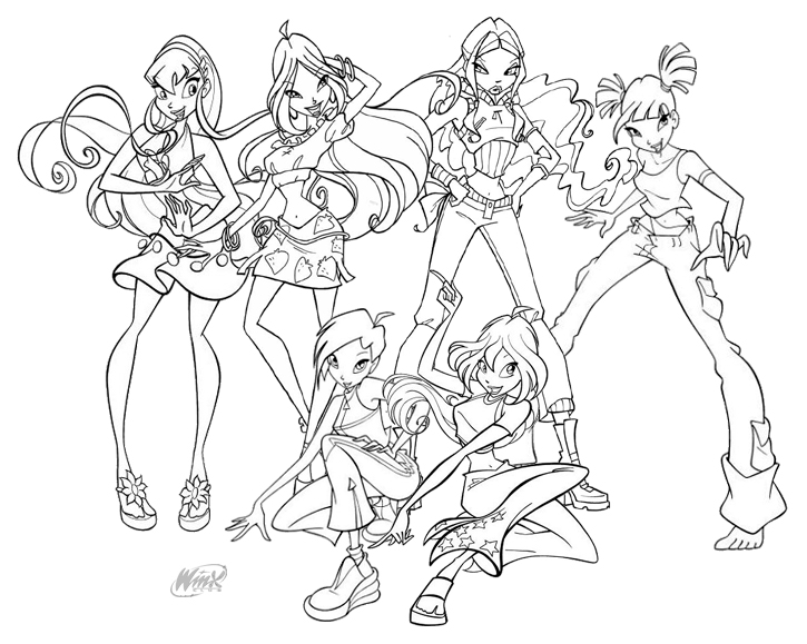 winx coloring page winx coloring pages coloring pages to print coloring page winx