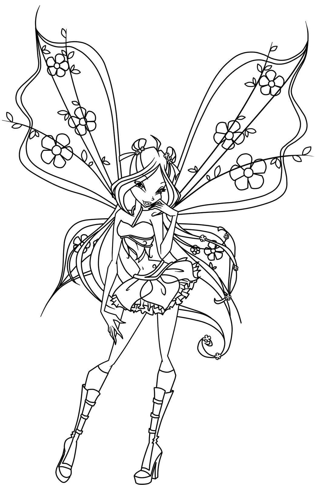 winx coloring page winx princess coloring pages download and print for free winx page coloring