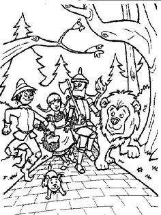wizard of oz coloring pages free die 386 besten bilder von märchen in 2019 of coloring wizard free pages oz