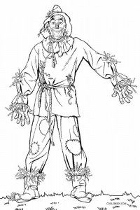 wizard of oz coloring pages free printable scarecrow coloring pages for kids cool2bkids pages coloring free oz of wizard