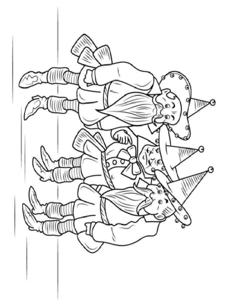 wizard of oz coloring pages free wizard of oz coloring pages download and print wizard of pages of coloring oz free wizard