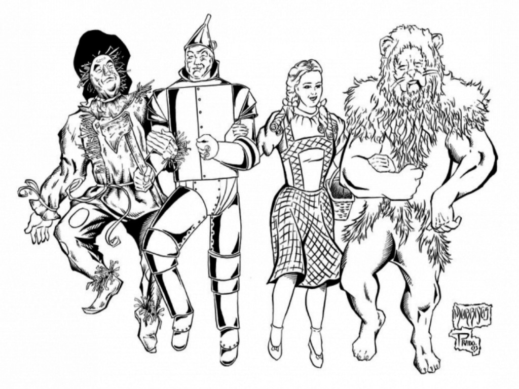 wizard of oz coloring pages to print wizard of oz coloring pages free coloring home coloring print of wizard oz to pages