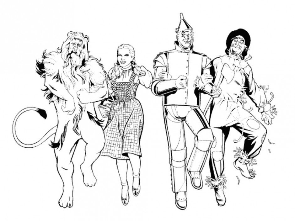 wizard of oz coloring pages to print wizard of oz coloring pages pages print of to coloring oz wizard