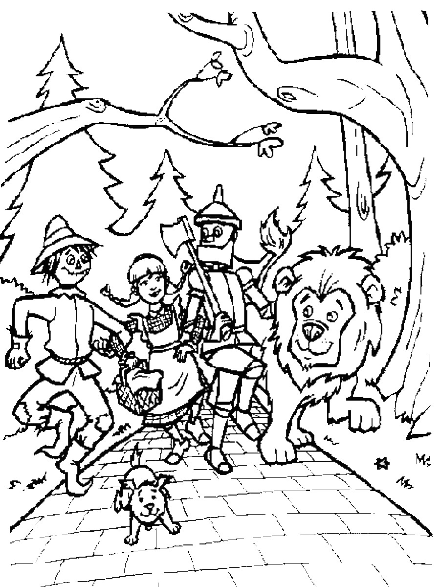 wizard of oz pictures to print wizard of oz coloring pages to wizard pictures oz of print