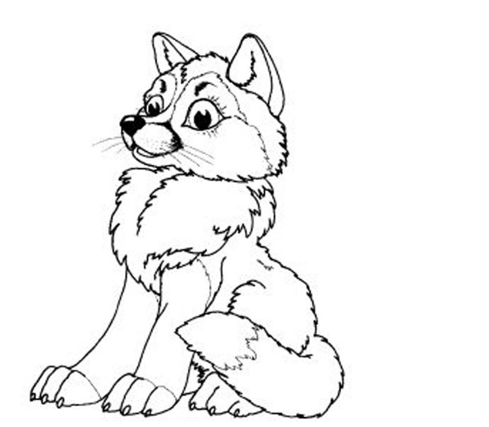 wolf coloring page baby wolf coloring pages bestappsforkidscom wolf page coloring