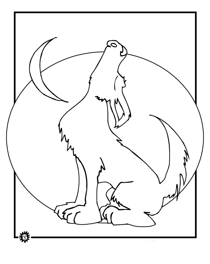 wolf coloring page wolf template animal templates free premium templates coloring page wolf