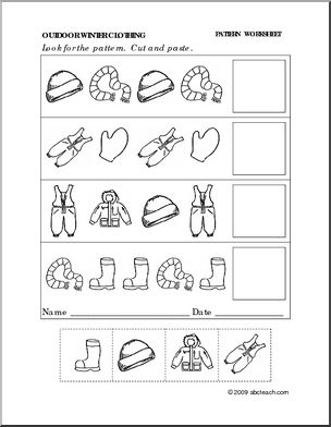worksheet for kindergarten clothes clothes free printable kindergarten worksheets 교육 for kindergarten worksheet clothes