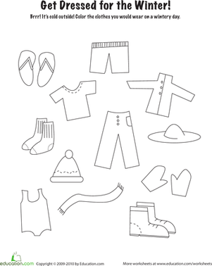 worksheet for kindergarten clothes clothing clothes activity worksheet slp pinterest for worksheet kindergarten clothes