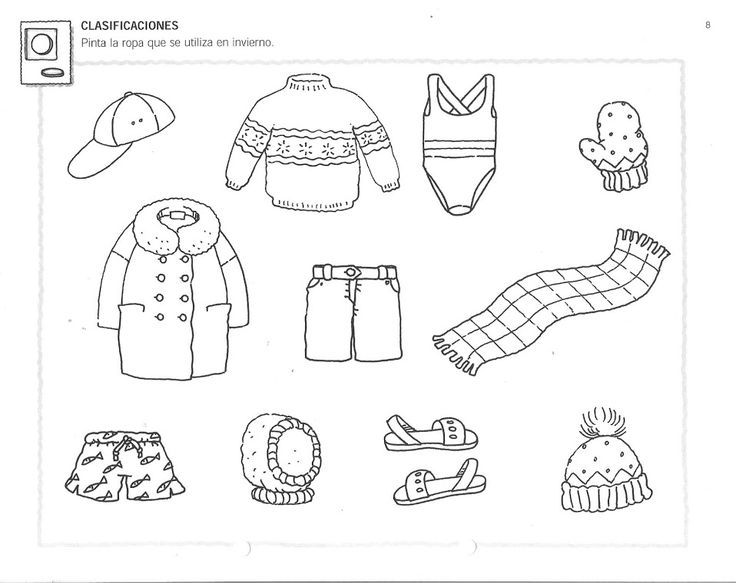worksheet for kindergarten clothes the clothes clothes worksheet worksheet kindergarten for clothes