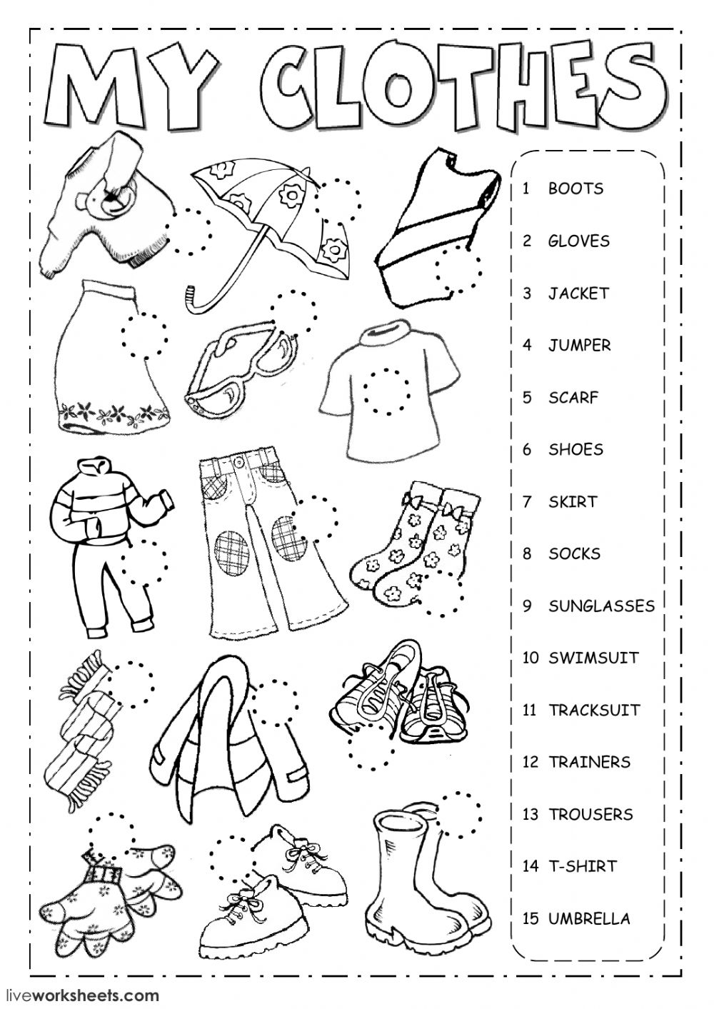 worksheet for kindergarten clothes winter clothes sorting worksheet freebie seasons for kindergarten clothes worksheet