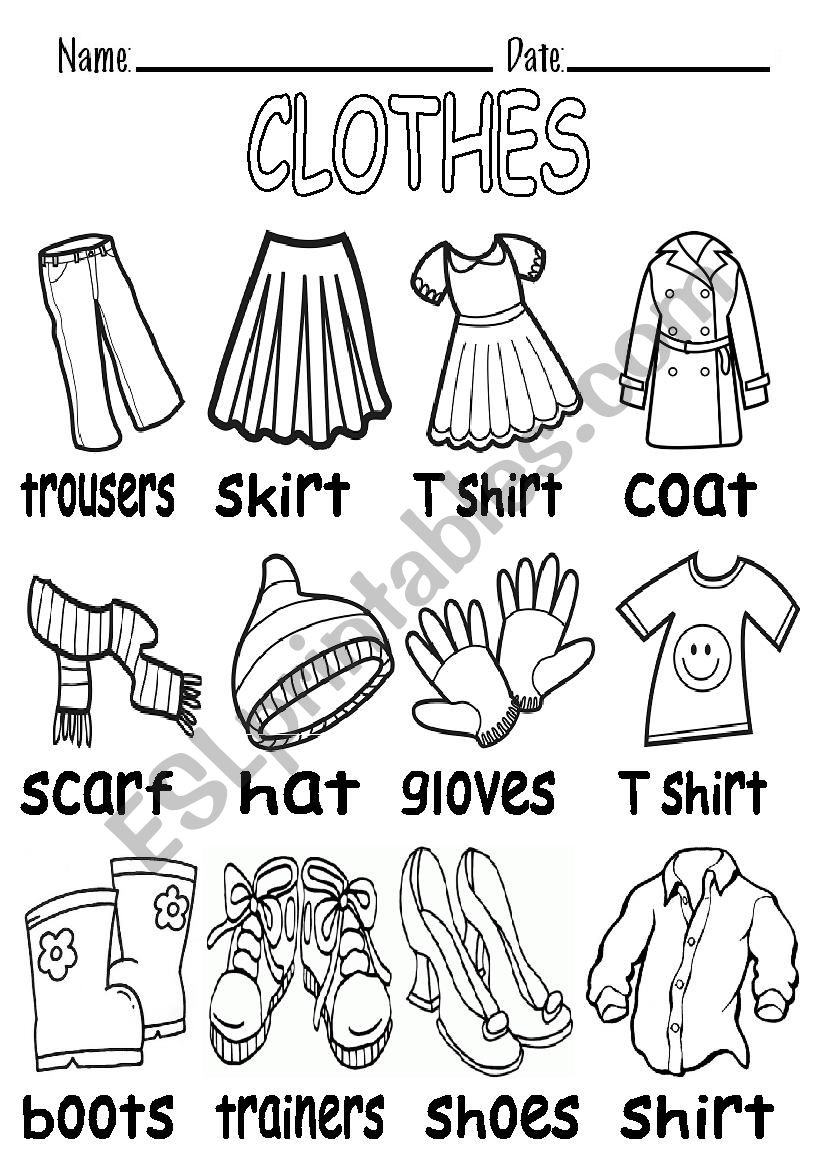 worksheet for kindergarten clothes worksheet winter clothing match pictures preschool worksheet clothes for kindergarten