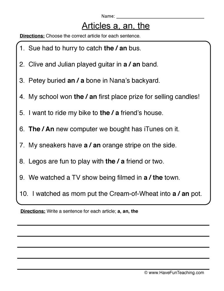worksheets for grade 1 articles articles a and an worksheet preschoolcraft lessons worksheets 1 grade articles for