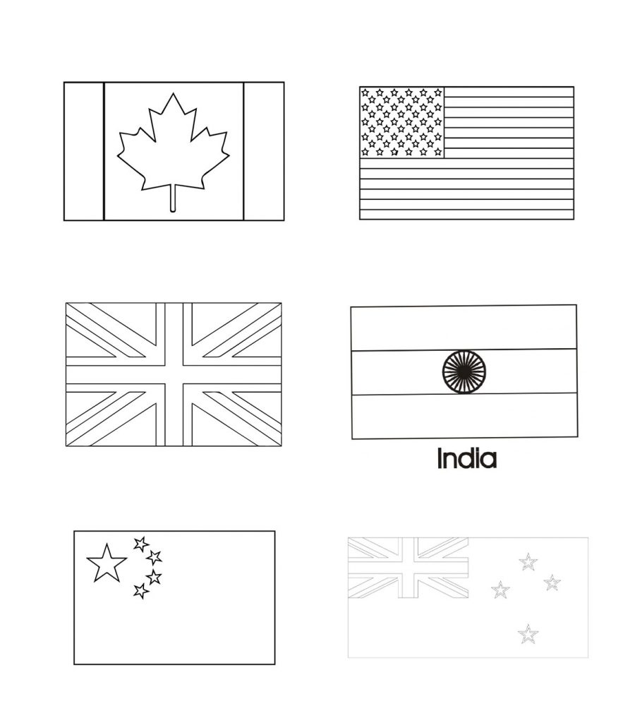 world flags to colour printable coloring pages of flags around the world 5 to flags world colour